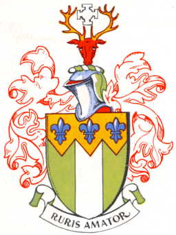 Arms of the former Friern Barnet UD; click the image to read more